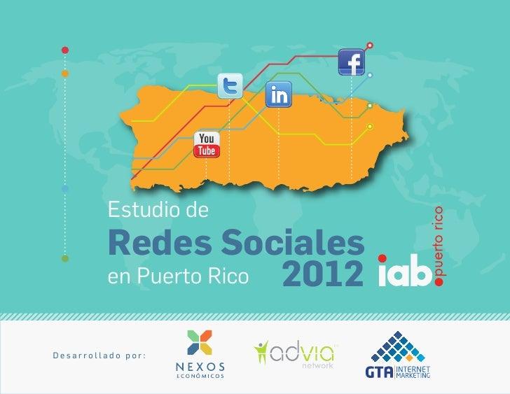 Estudio de las Redes Sociales IAB Puerto Rico