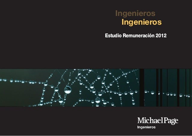 Ingenieros Estudio Remuneración 2012 Ingenieros