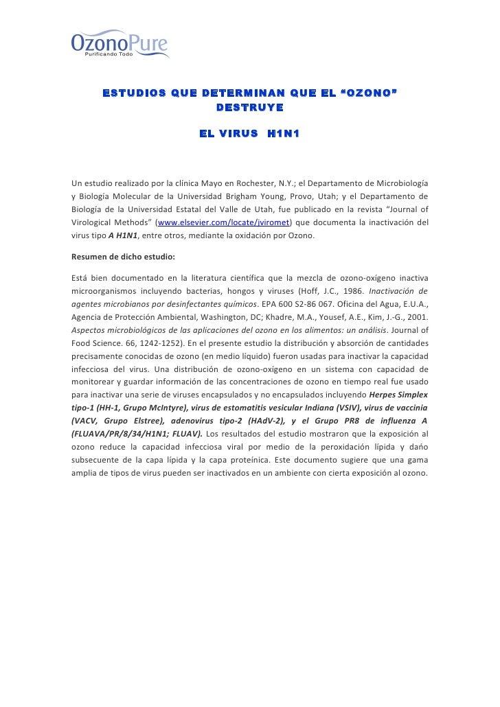 Estudios h1 n1