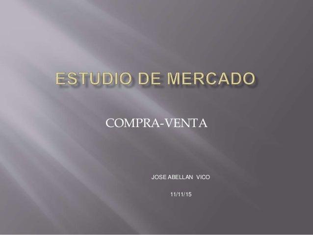 COMPRA-VENTA JOSE ABELLAN VICO 11/11/15