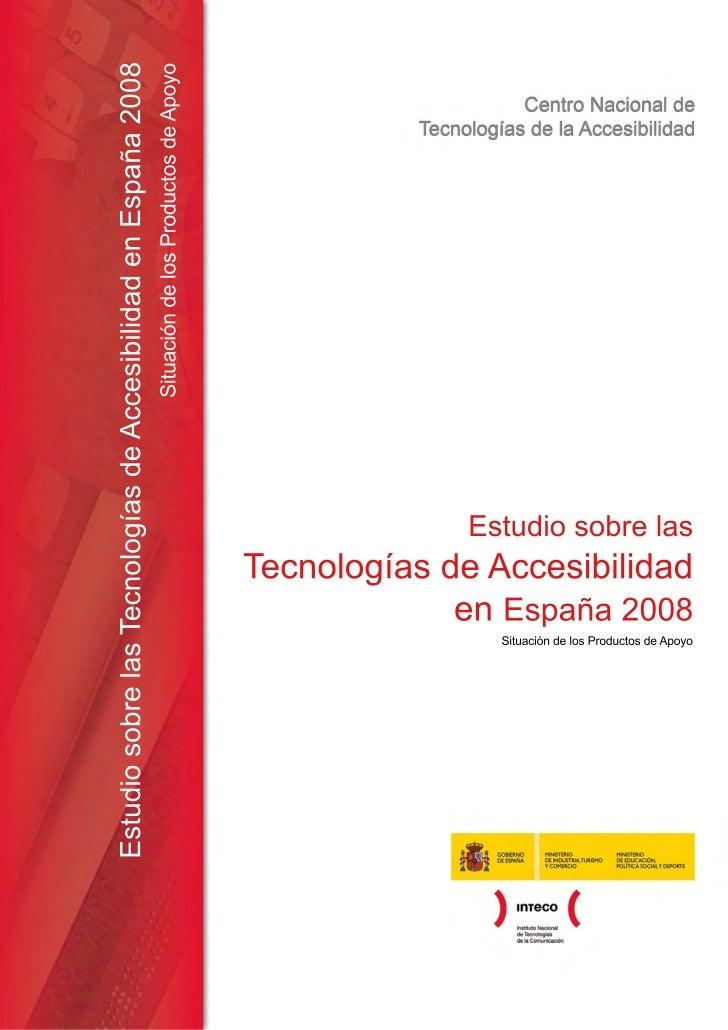Estudio tecnologias accesibilidad