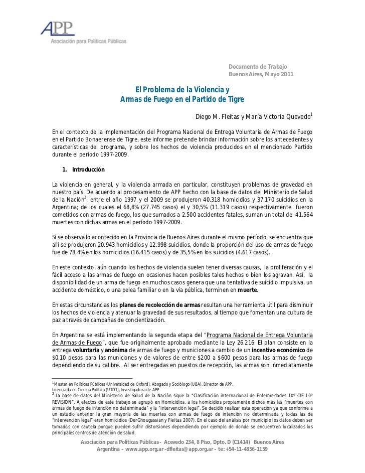 Documento de Trabajo                                                                                               Buenos ...