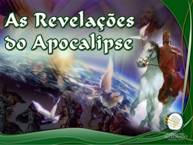 O ApocalipseO Apocalipse apresenta umapresenta um misterioso livromisterioso livro fechado comsetefechado comsete selos.se...