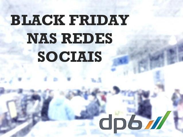Black Friday nas redes sociais