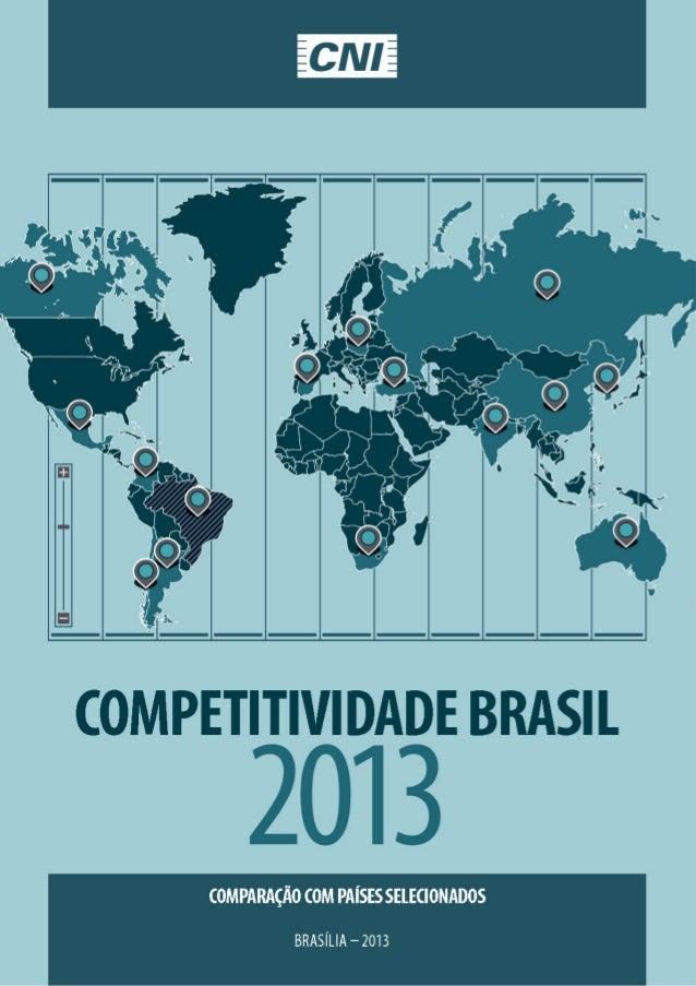Estudo Competitividade | Enai 2013 | Divulgação 12/12/2013