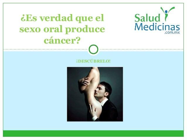 Es verdad que el sexo oral produce cáncer