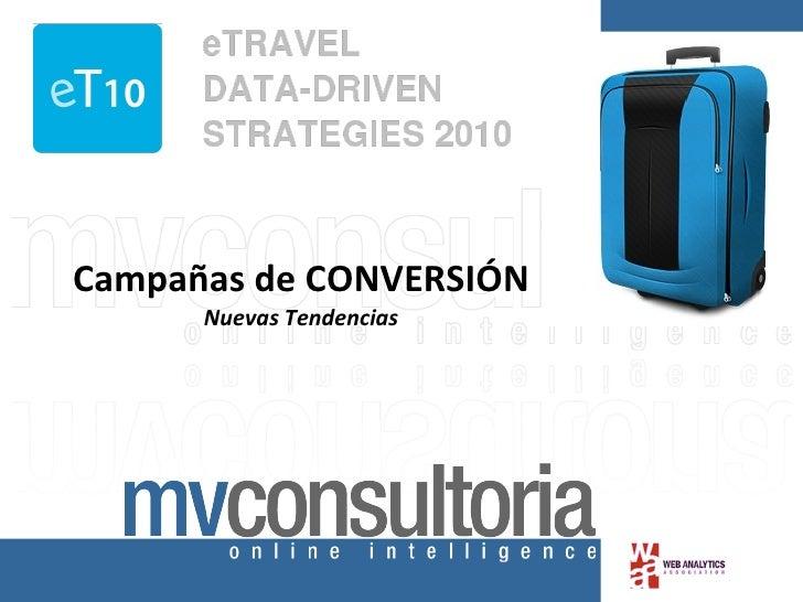 ET10: campañas de conversión en el sector turístico