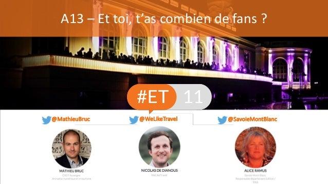 A13 – Et toi, t'as combien de fans ? @SavoieMontBlanc@MathieuBruc @WeLikeTravel