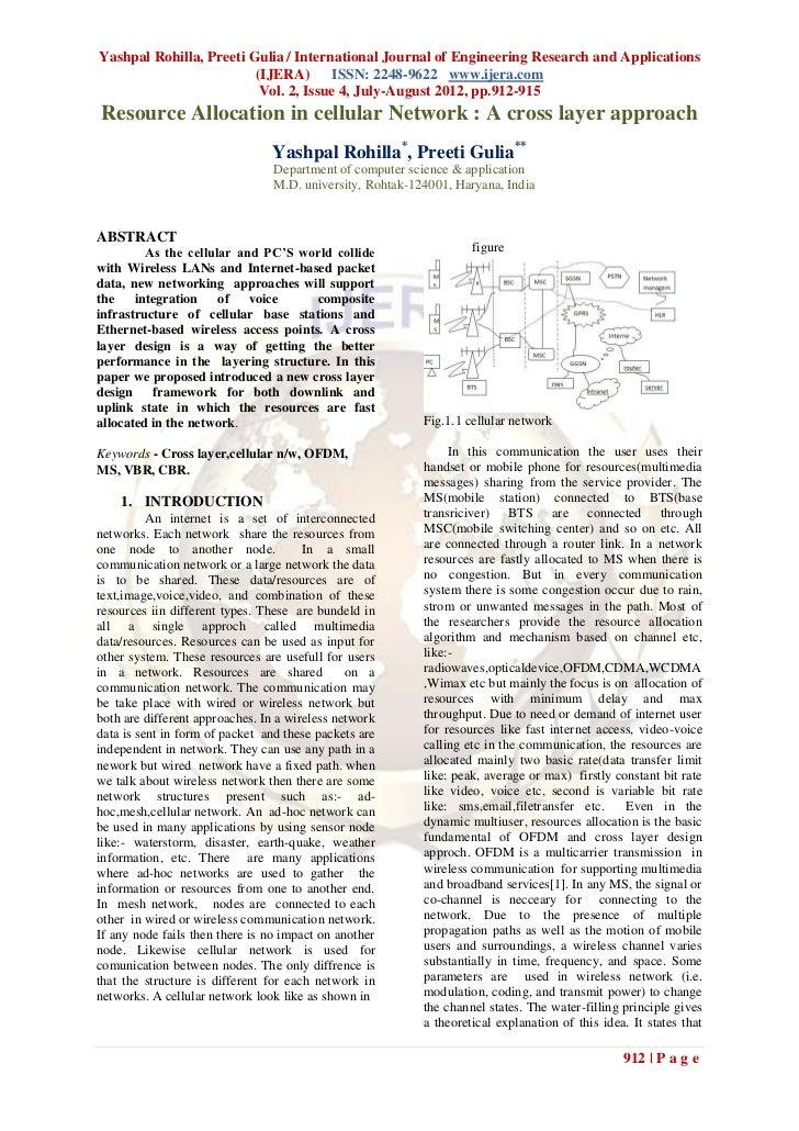 Yashpal Rohilla, Preeti Gulia / International Journal of Engineering Research and Applications                         (IJ...