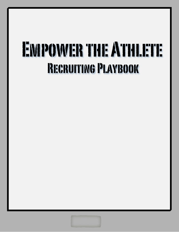 ETA Lacrosse Recruiting Playbook 2011