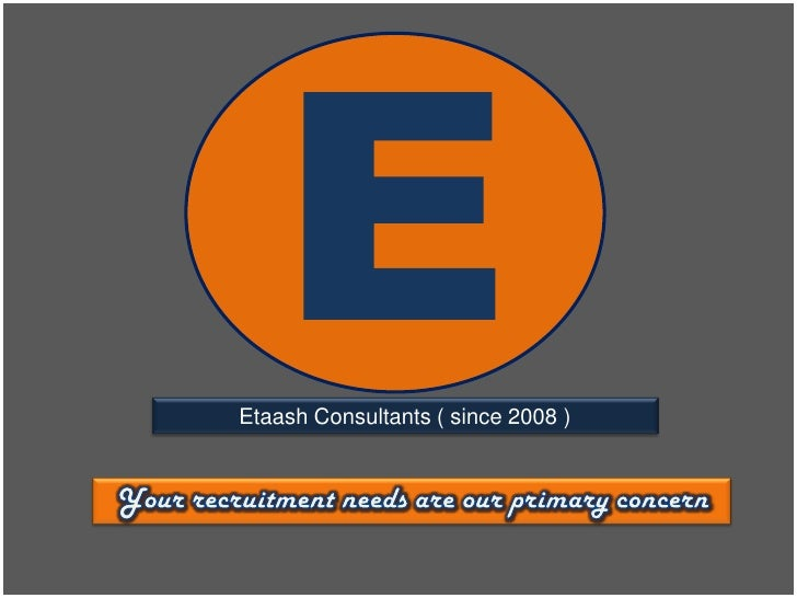 Etaash Consultants [ a leading Human Resource Consultants ]