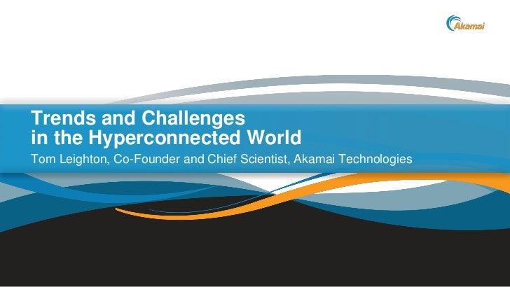 Etail 2012 Akamai Chief Scientist keynote