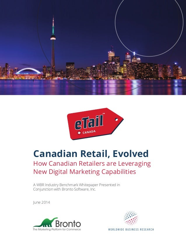 eTail Canada Ecommerce Retail Market Research Report