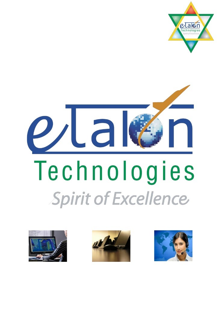 ETALON TECHNOLOGIES is a leading provider of diversified Engineering Services, ITServices and BPO Services. The company he...