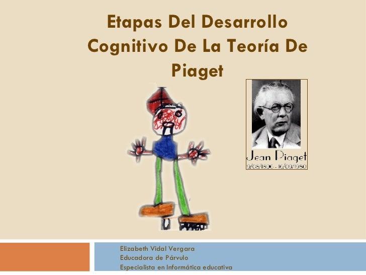 Etapas Del Desarrollo Cognitivo De La Teoría De Piaget Elizabeth Vidal Vergara Educadora de Párvulo Especialista en Inform...
