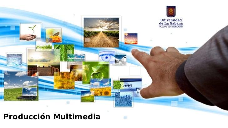 Etapas de creacion de un producto multimedia