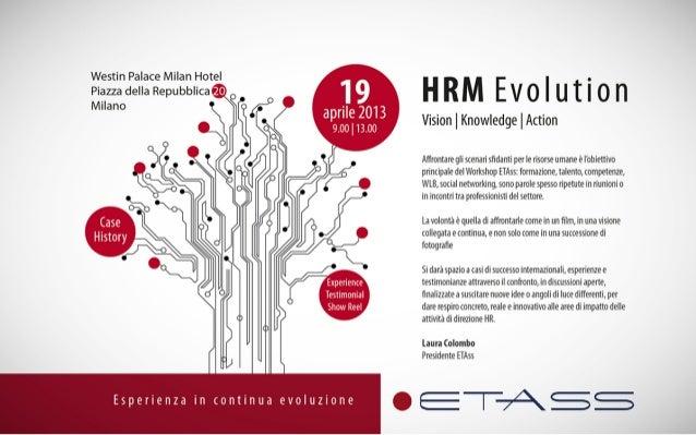 ETAss invito 19 aprile 2013 convegno HRM