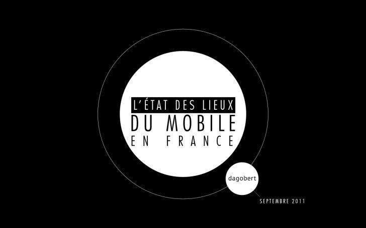 Etat des lieux du mobile 1. Sept 2011
