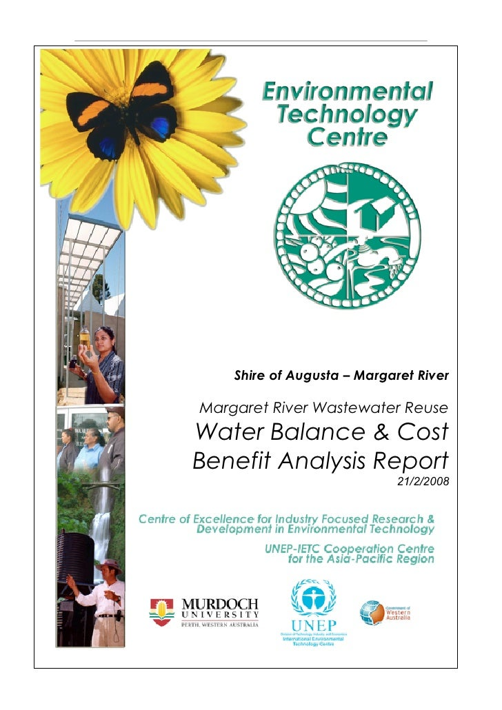 Margaret River Water Recycling Water Balance and Cost Benefit Analysis