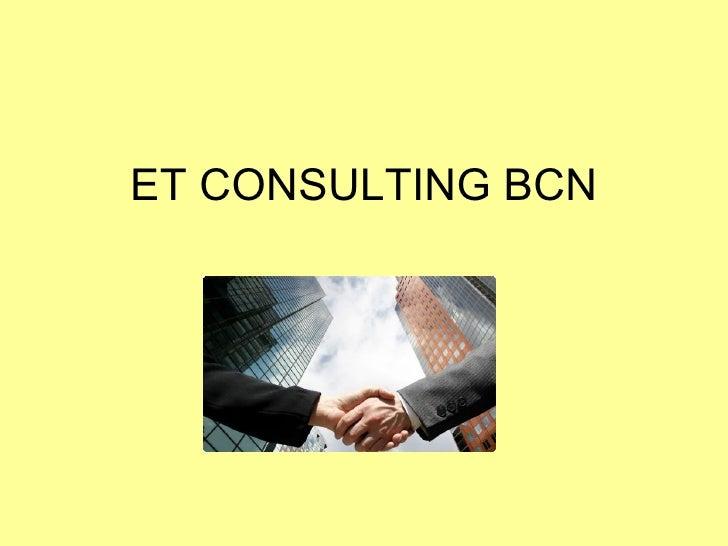 Et Consulting Bcn