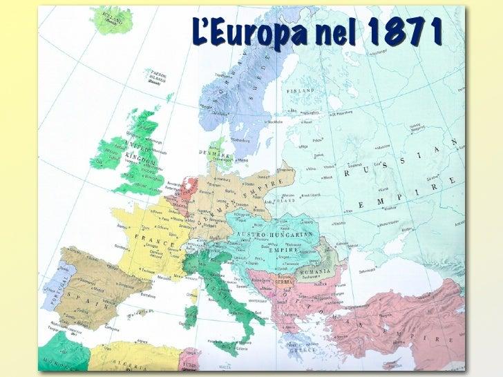 L'Europa nel 1871