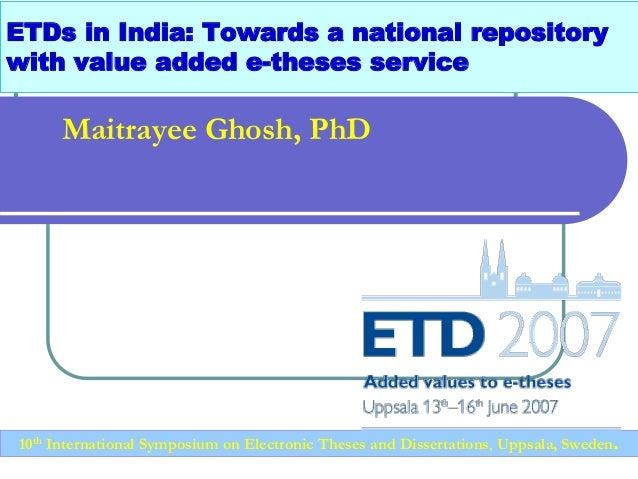 Online thesis help jobs india