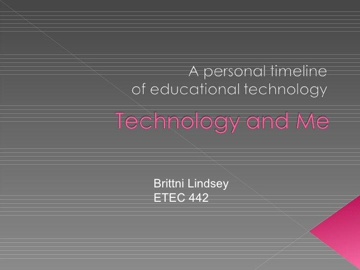 Brittni Lindsey ETEC 442