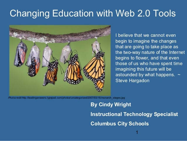 Changing Education with Web 2.0 Tools                                                                                     ...