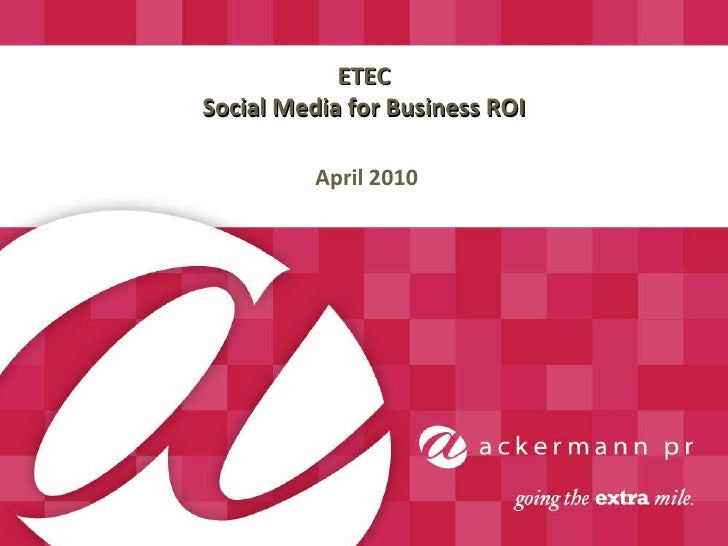 ETEC Presentation
