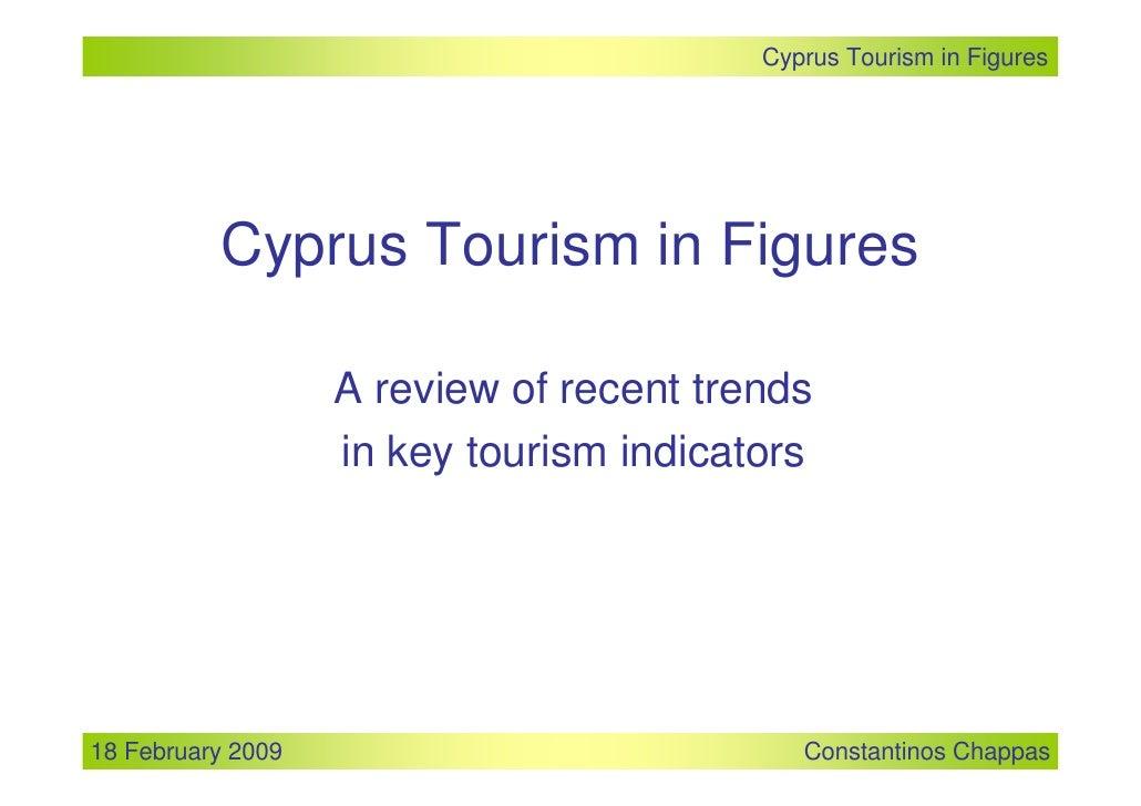 Cyprus Tourism In Figures - etourism forum
