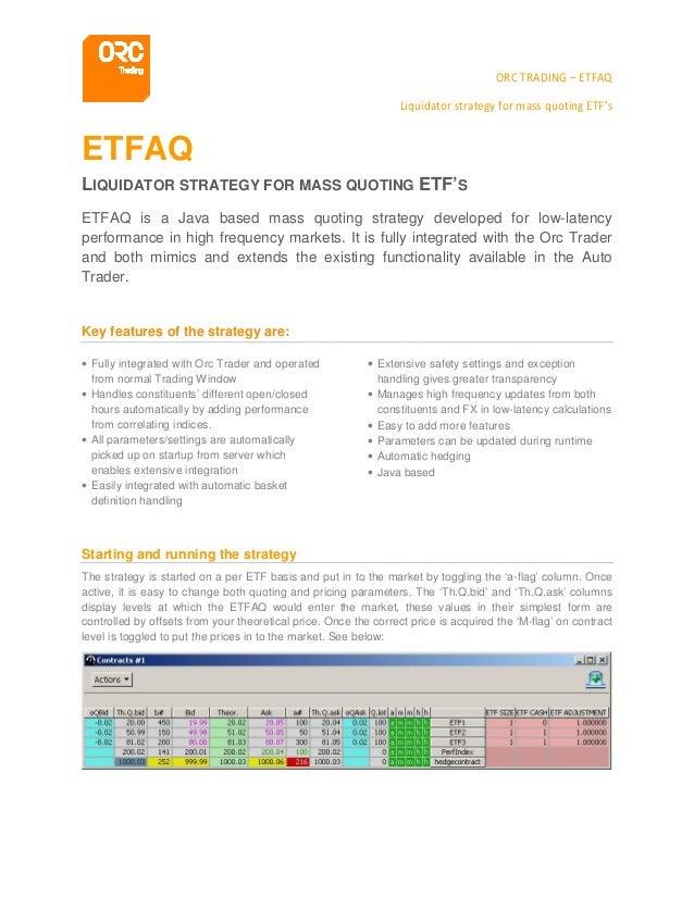 ETF Product Sheet