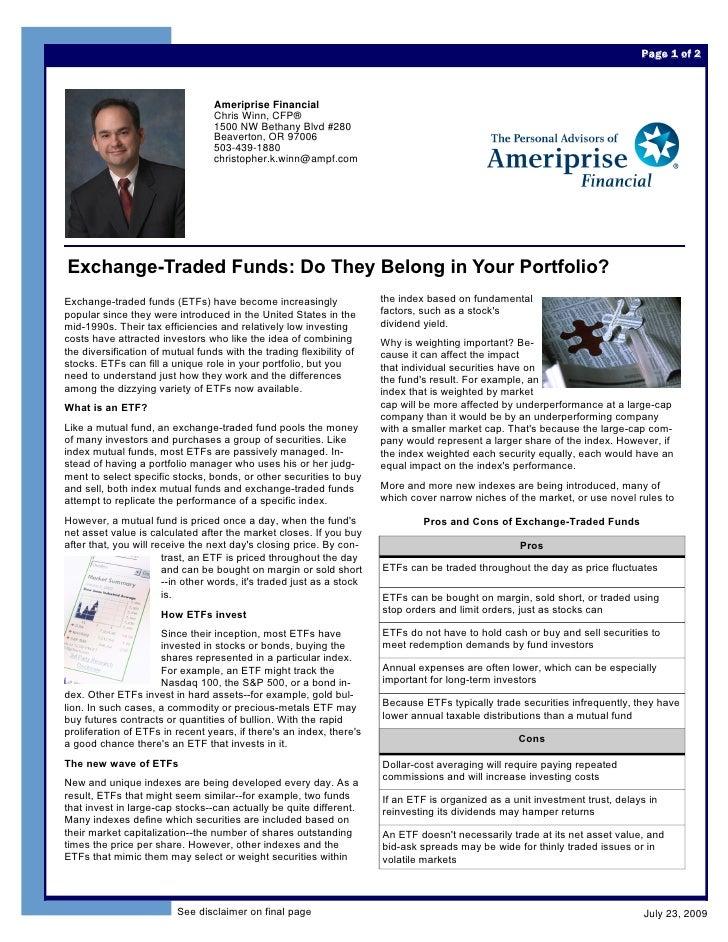 Page 1 of 2                                      Ameriprise Financial                                   Chris Winn, CFP®  ...
