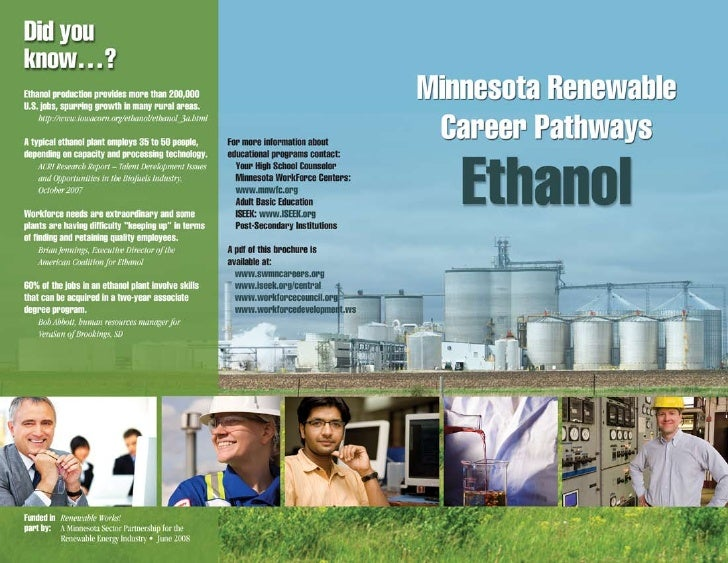 Ethanol Career Pathway