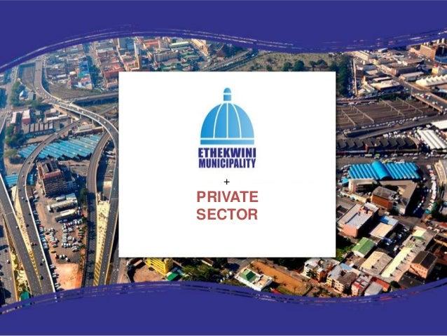 Ethekwini presentation on durban metropolitan area initiatives