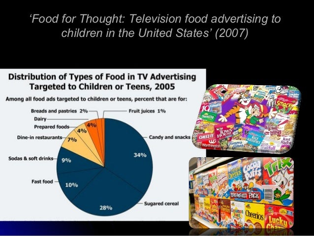 the unhealthy link between food advertising and childhood obesity in the united states Protecting children from the harmful effects of food and drink marketing marketing has also been associated with an increased risk of overweight and obesity in children a uk-based group which lobbies to protect children from junk-food marketing.