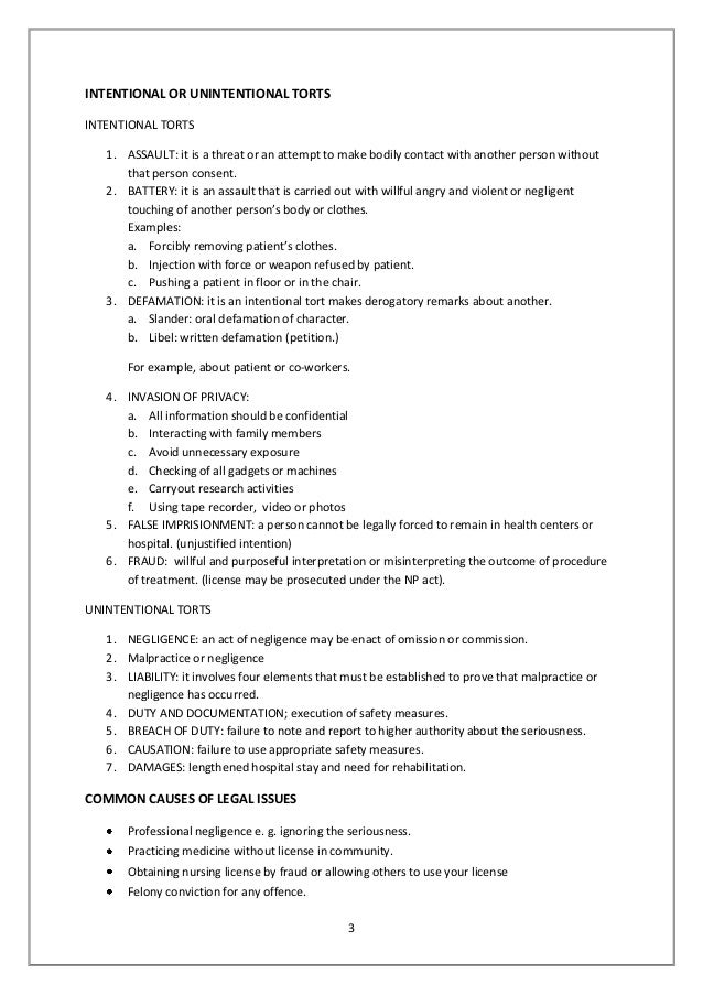 aspect of contract and neglegence essay