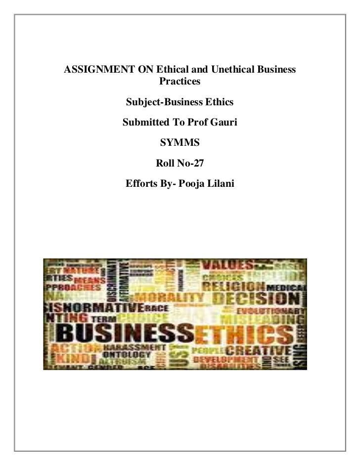 Ethics in advertising essay