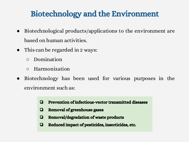 effects of biotechnology in healthcare •biotechnology's impact in biomedicine global health and food security convergence in the life sciences biotechnology is changing the biomedical world.