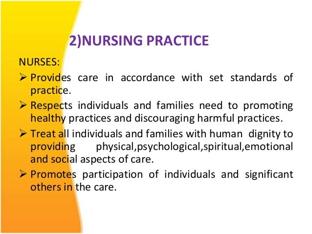 nursing ethics law and professional code Example essay on professional and ethical practice in nursing  code of ethics their role  griffith r, tengnah c (2008) law and professional issues in nursing.