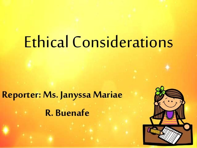ethical considerations in dissertation research Develop a research proposal writing ethical considerations for here are some excellent resources to help you make your decisions about ethics in your.