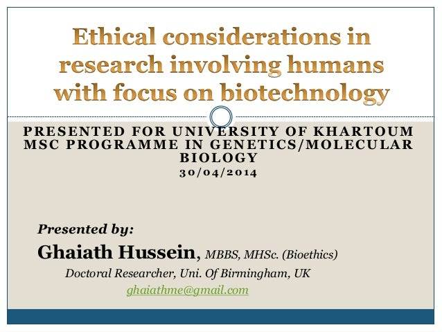 New Ethicist to Explore Biotechnology and Human Health