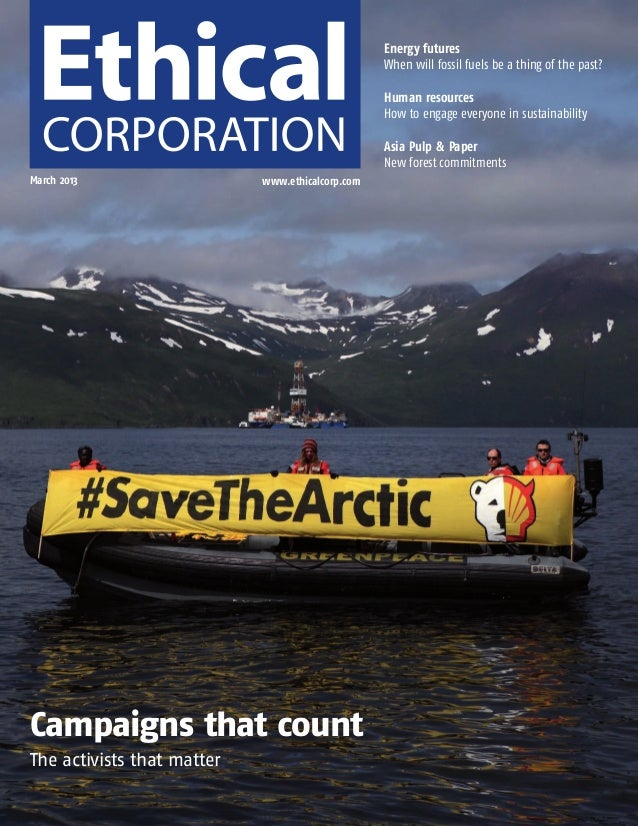 Ethical Corp Cover and Contents March 2013