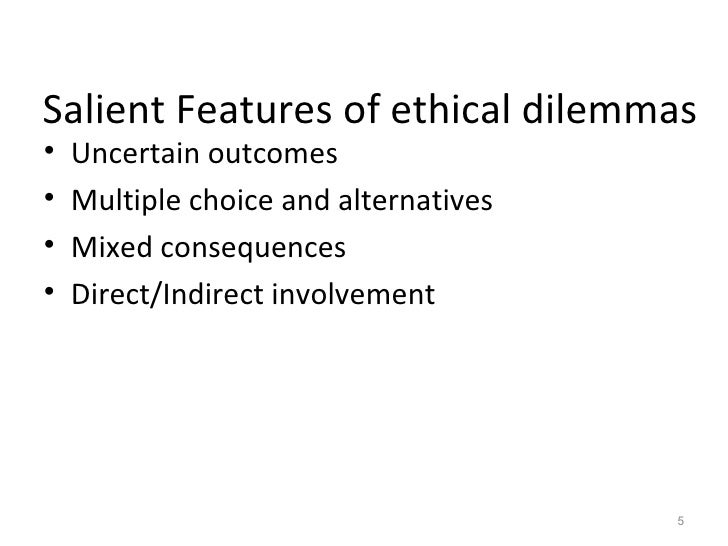 chapter 3 an ethical dilemma Foodreview of part 3 of the omnivore's dilemma engl-135 advanced chapter 15 of omnivore's dilemma was a short chapter on is morally right and ethical.