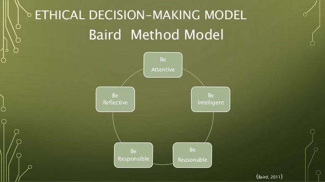 Nursing essay using a decision making model