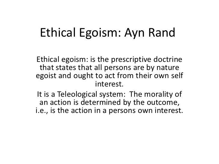 ethical and psychological egoism 2 essay