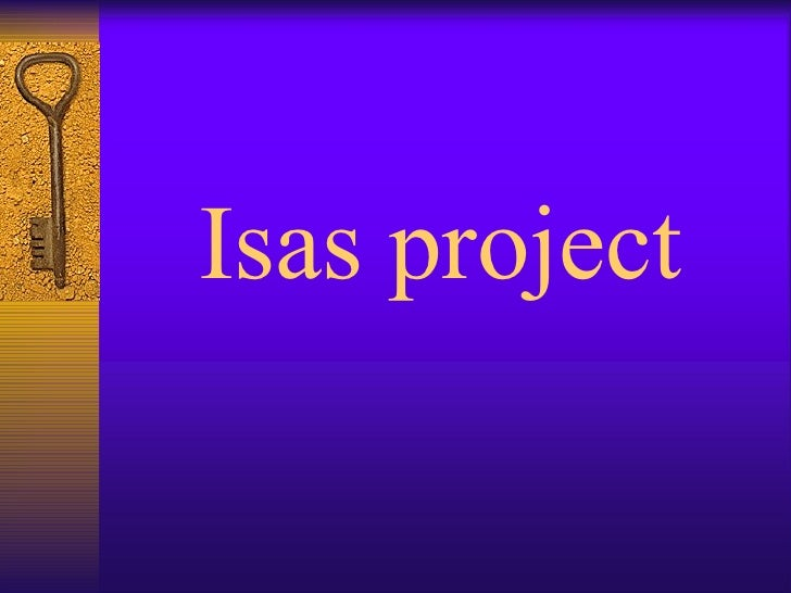 Isas project