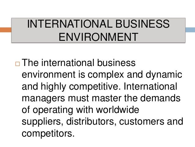 What are some ethical problems a business may encounter while operating internationally?