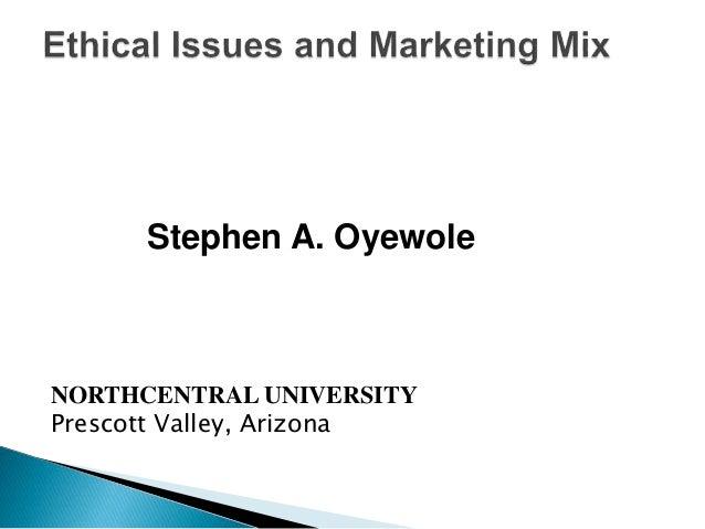 Stephen A. Oyewole NORTHCENTRAL UNIVERSITY Prescott Valley, Arizona