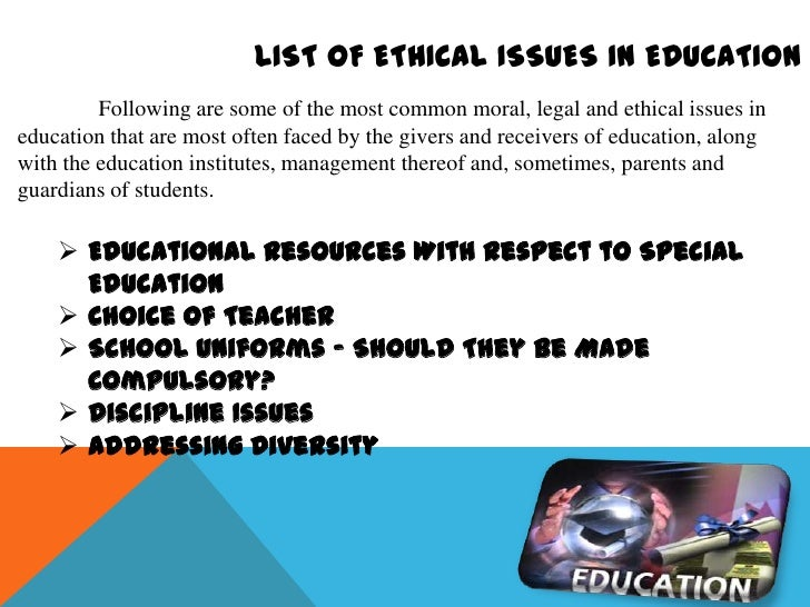 Ethical Issues and Management Essay Sample