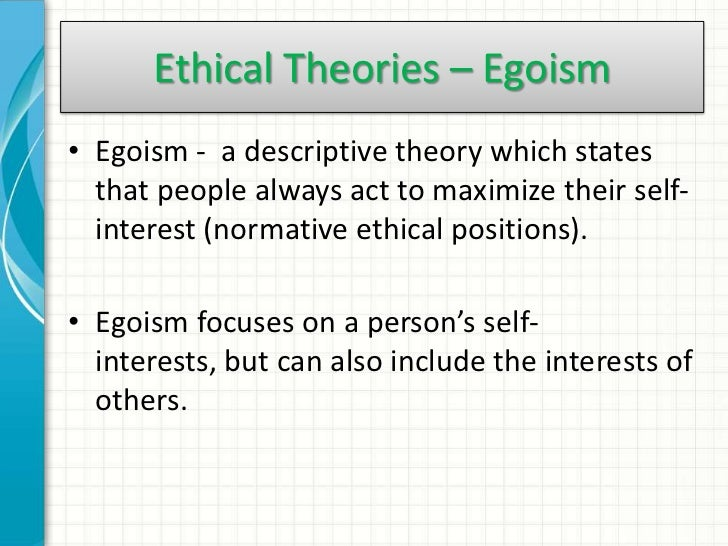 counter arguments to egosim Is ethics just doing what i want an assessment of egoism or persuasive arguments for supports egoism no matter what potential counter.
